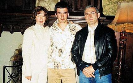 С Еленой и сыном Павлом
