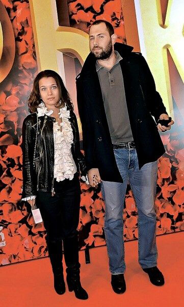 Слепаков с супругой