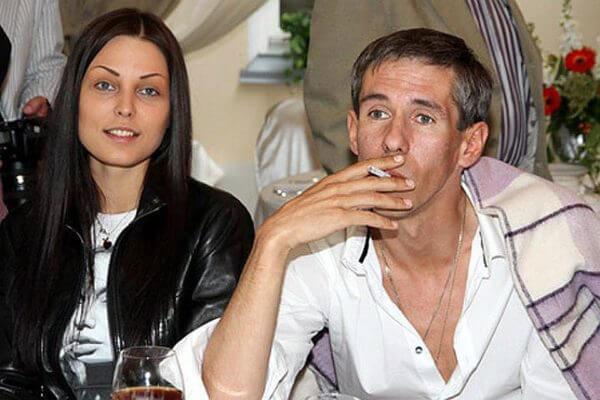 Со своей женой Люсей