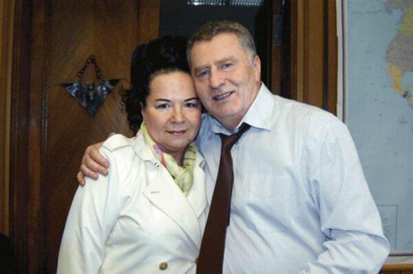 Жириновский с женой