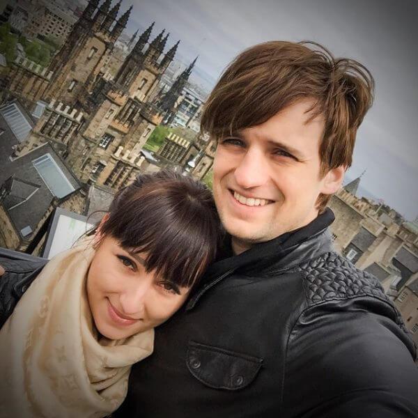 Дмитрий с женой Викторией