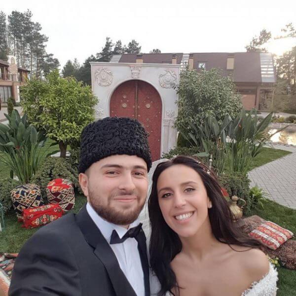 Фото со свадьбы Джамалы. Джамала с мужем