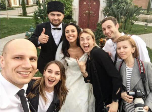 Фото со свадьбы Джамалы. Гости