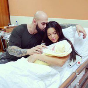 Оксана Самойлова родила Джигану дочку
