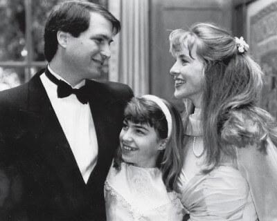 Стив с дочкрй Лизой и женой Лорен