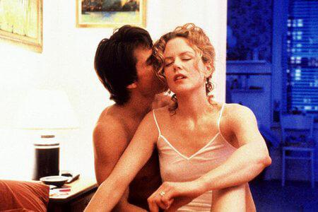 Николь и Том Круз в картине «С широко закрытыми глазами»