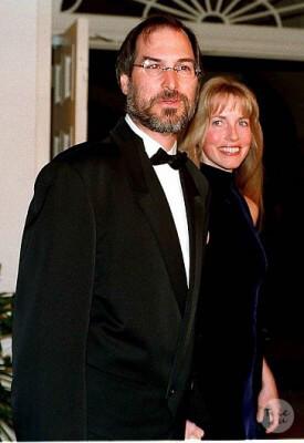 Стив Джобс и Лорен