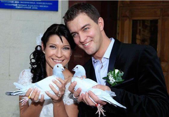 Свадьба Екатерины Волковой