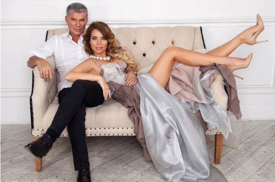 Олег Газманов со второй женой Мариной Муравьевой